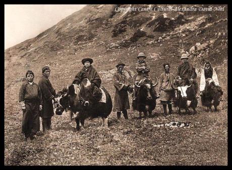 Alexandra David-Néel, Tibet, 1912