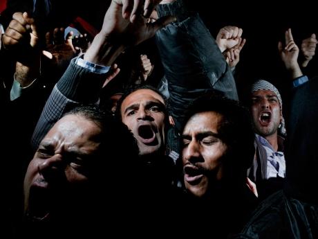 Mısır Protesto, Kahire, 10 Şubat 2011 - (Alex Majoli/Magnum Photos/Newsweek)